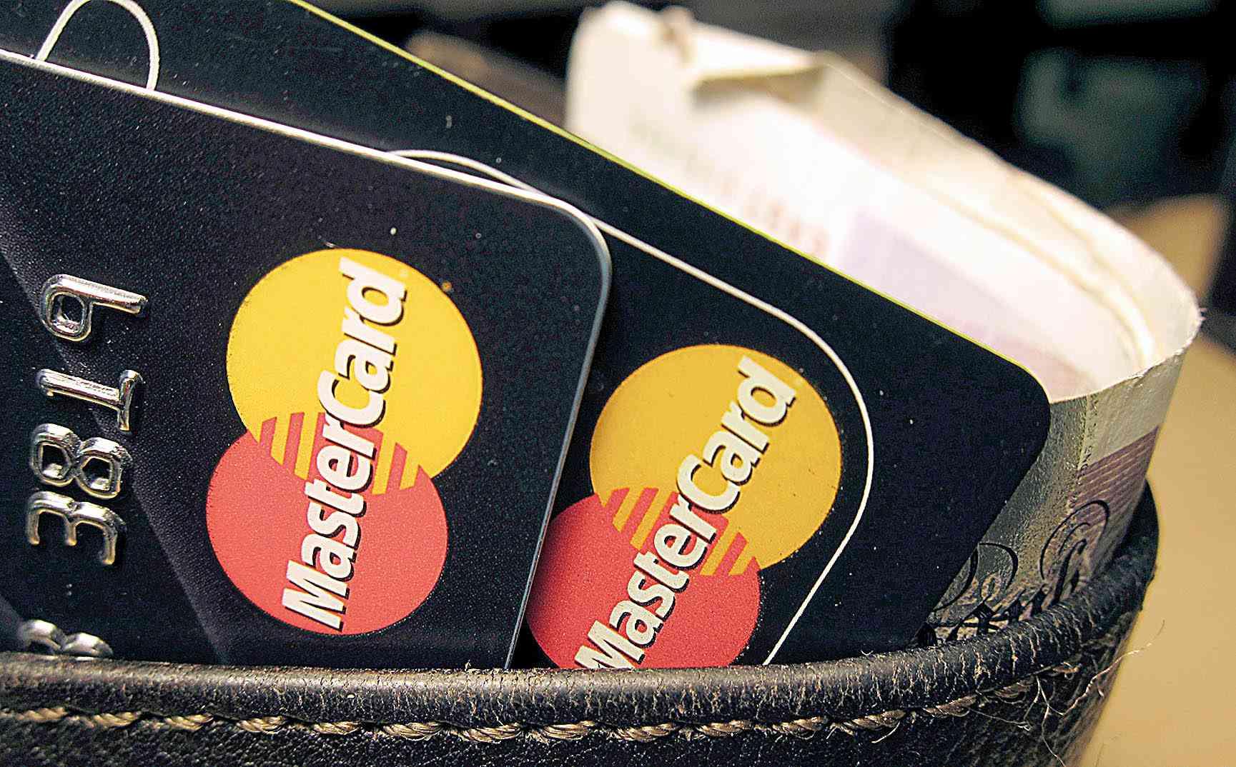 Cartões da bandeira Mastercard
