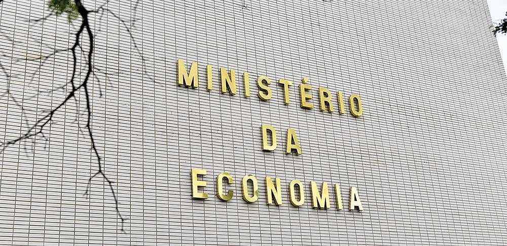 Fachada do prédio do Ministério da Economia
