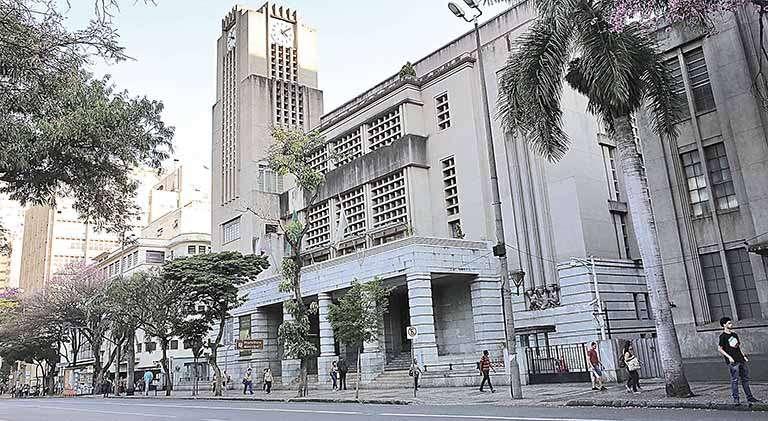 Fachada da Prefeitura de Belo Horizonte