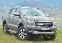 Ford Ranger Limited se destaca pela tecnologia embarcada
