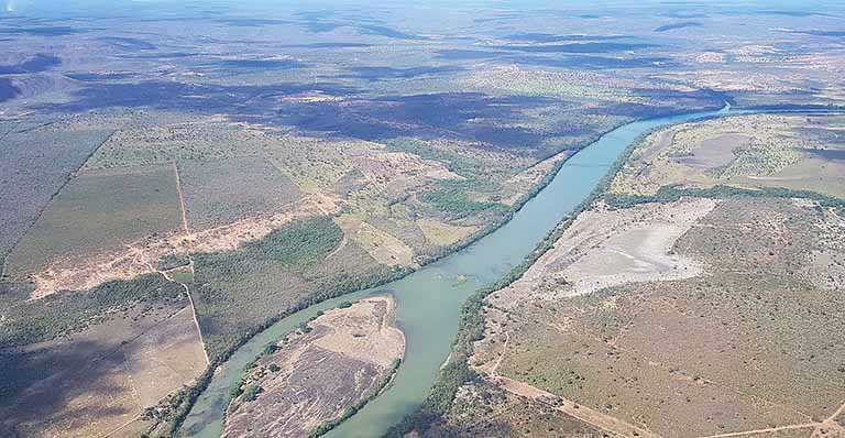 Os rios só pedem passagem...