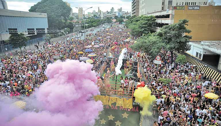 Carnaval de BH será impulsionado com patrocínio de R$ 14,3 milhões