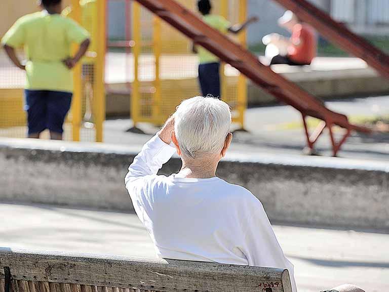Padrão de vida cai com envelhecimento