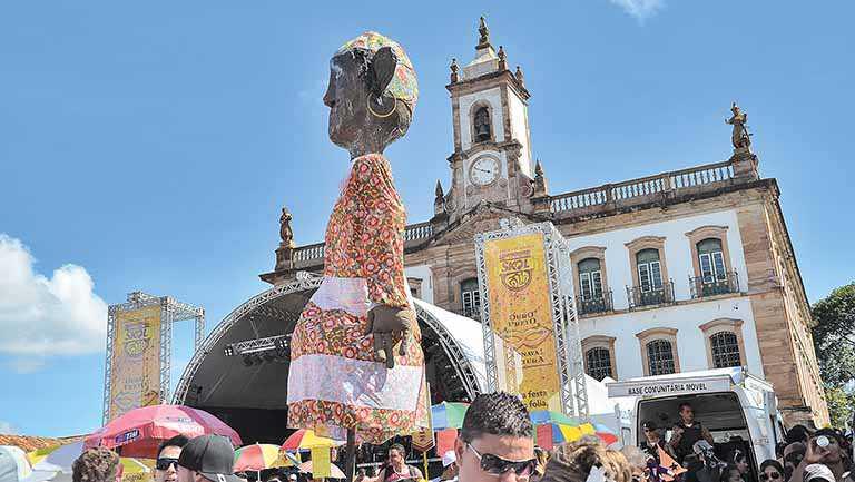 Ouro Preto prevê atrair 50 mil foliões neste ano