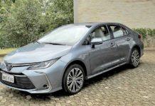 Toyota lança sedan brasileiro mais tecnológico