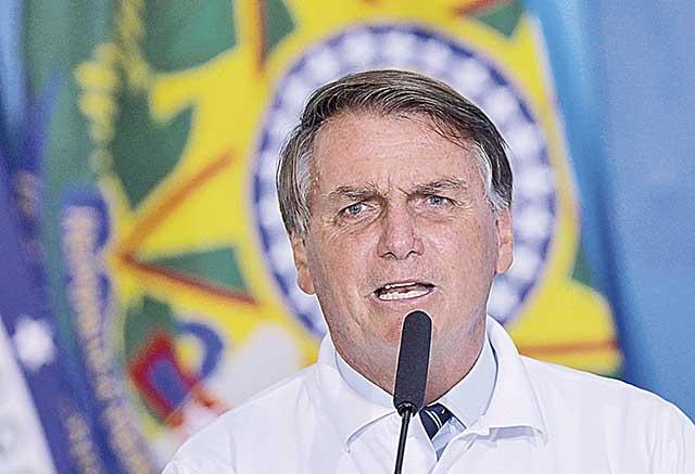 Bolsonaro: | Crédito: REUTERS/Adriano Machado