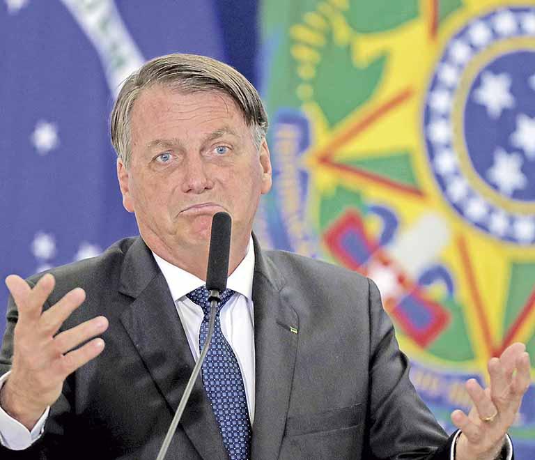 Bolsonaro   Crédito: REUTERS/Ueslei Marcelino