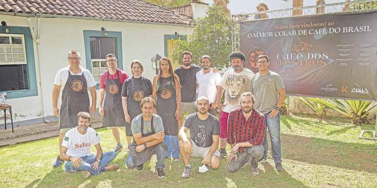 Café dos Mestres (projeto desenvolvido em Minas) | Crédito: Divulgação