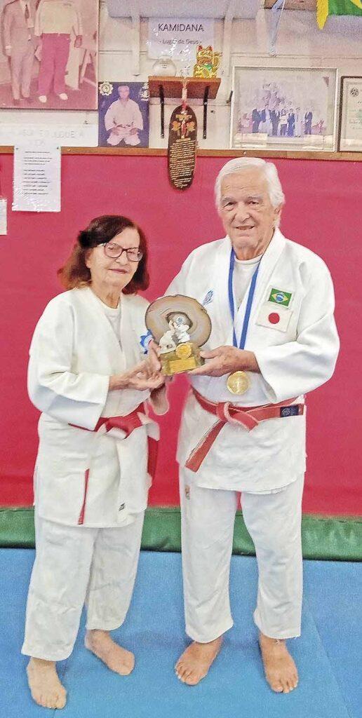 Mestre Antônio e a esposa Maria Salvador | Crédito: Divulgação