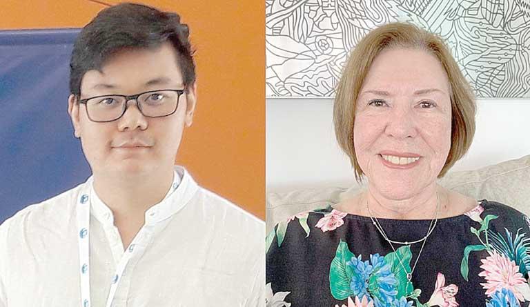 Kenji Nose e Ângela Mênin | Crédito: Divulgação/SME