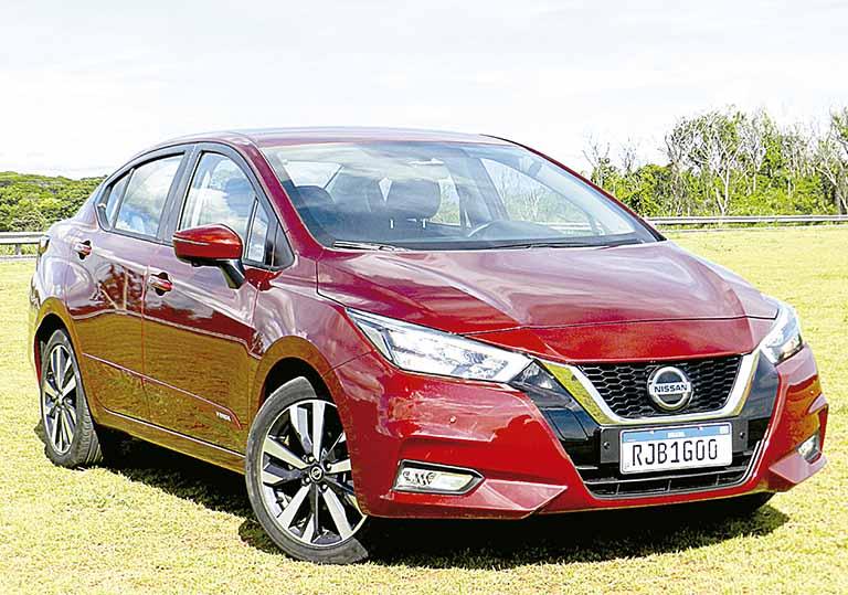 Nissan Versa | Crédito: Amintas Vidal