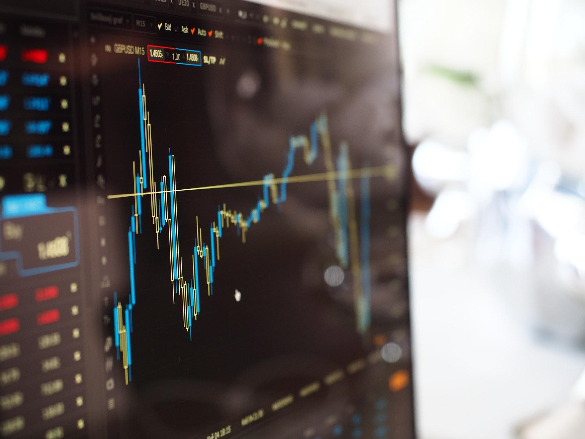 Gráficos da bolsa de valores - Day Trade   Imagem: Pexels