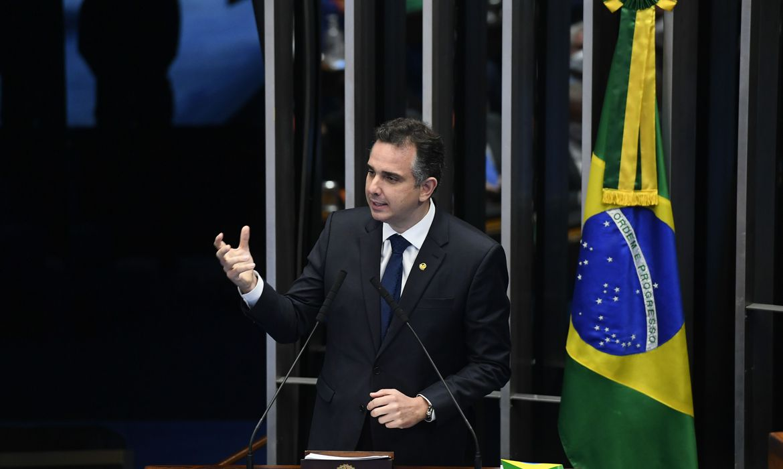 Rodrigo Pacheco | Crédito: Marcos Oliveira/Agência Senado
