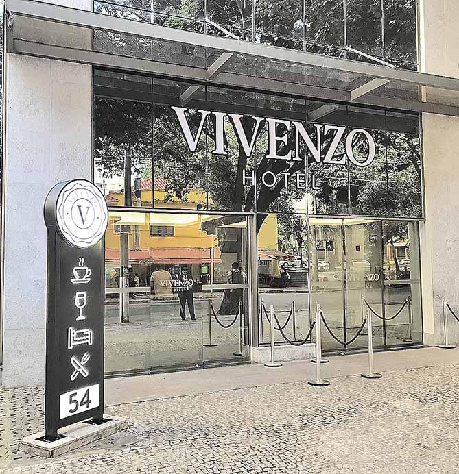 Crédito: Divulgação/Hotel Vivenzo Savassi