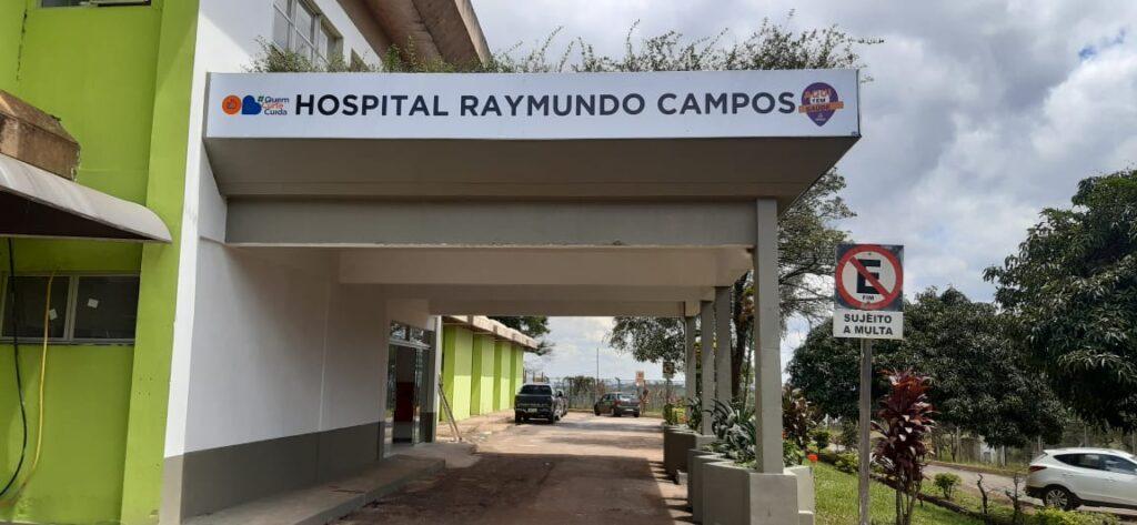 Fachada do Hospital Raymundo Campos