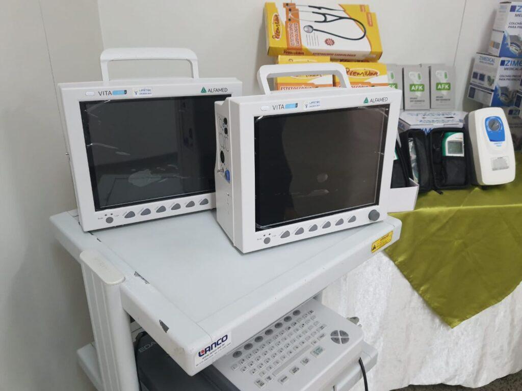 Equipamentos hospitalares doados pela Gerdau