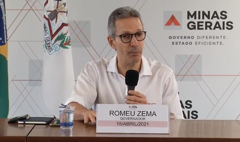 Governador de Minas Gerais: Romeu Zema