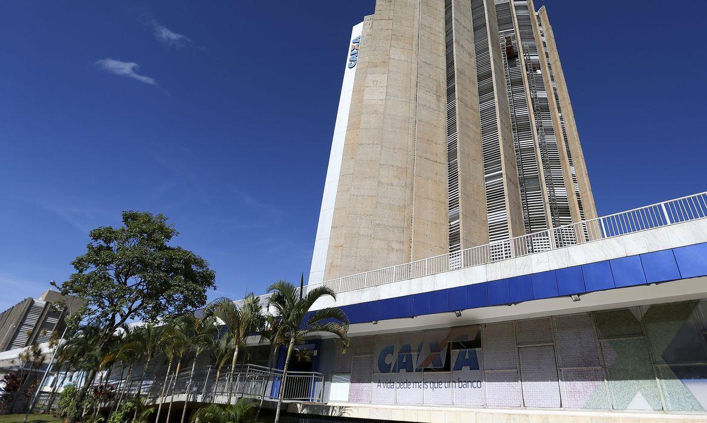 Edificio sede da Caixa Econômica Federal. Crédito: Marcelo Camargo/Agência Brasil