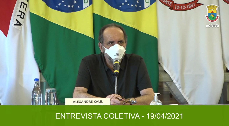 Prefeito Alexandre Kalil (PSD) | Crédito: Rede social oficial da PBH.