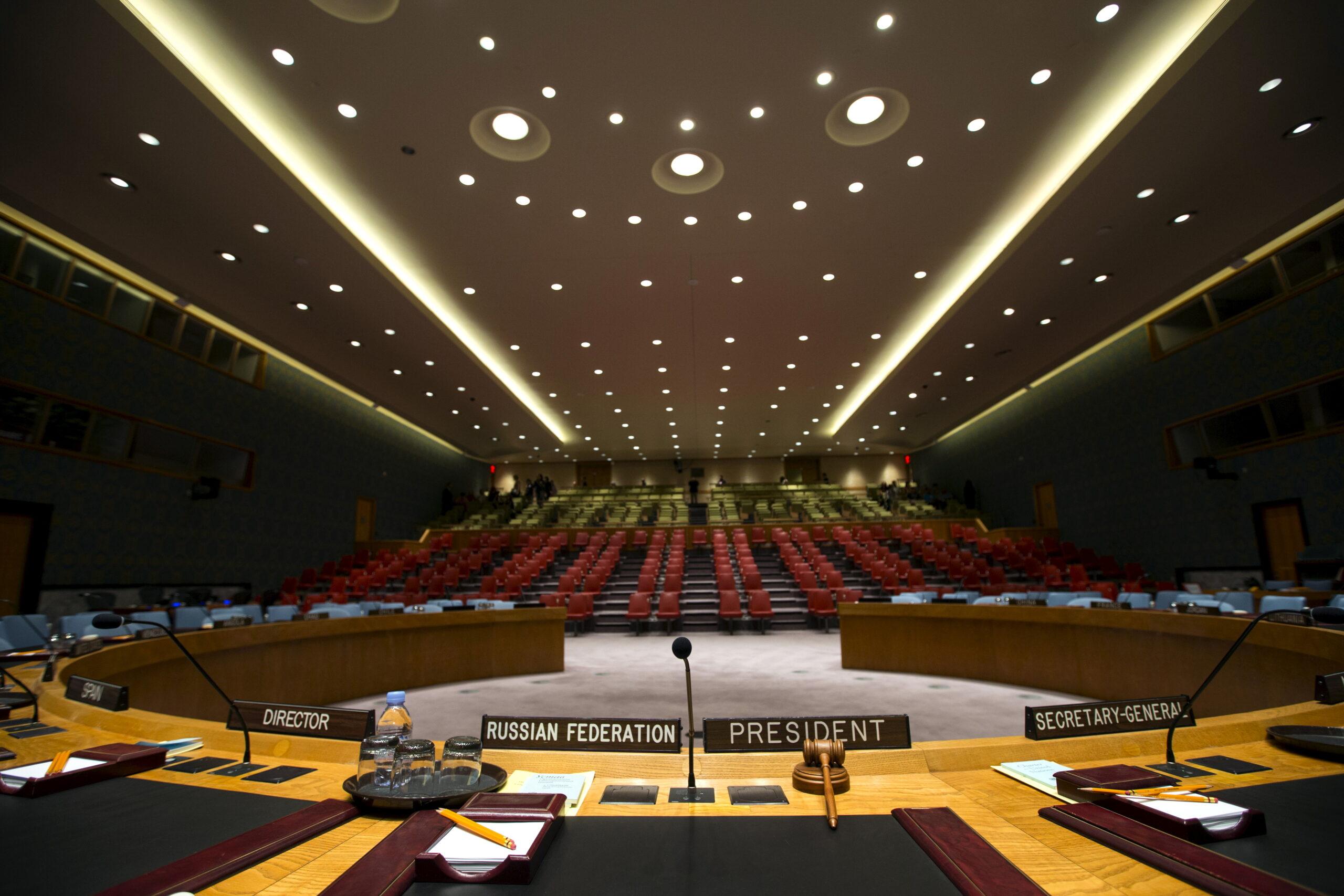 Câmara do Conselho de Segurança da ONU