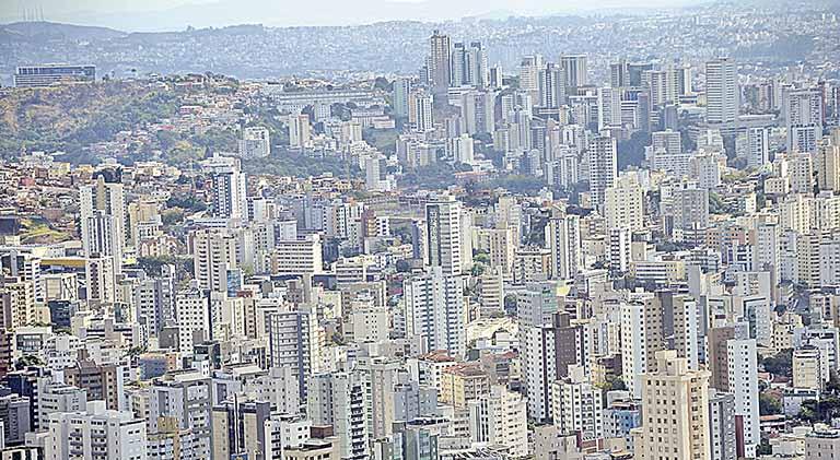 Vista aérea de Belo Horizonte
