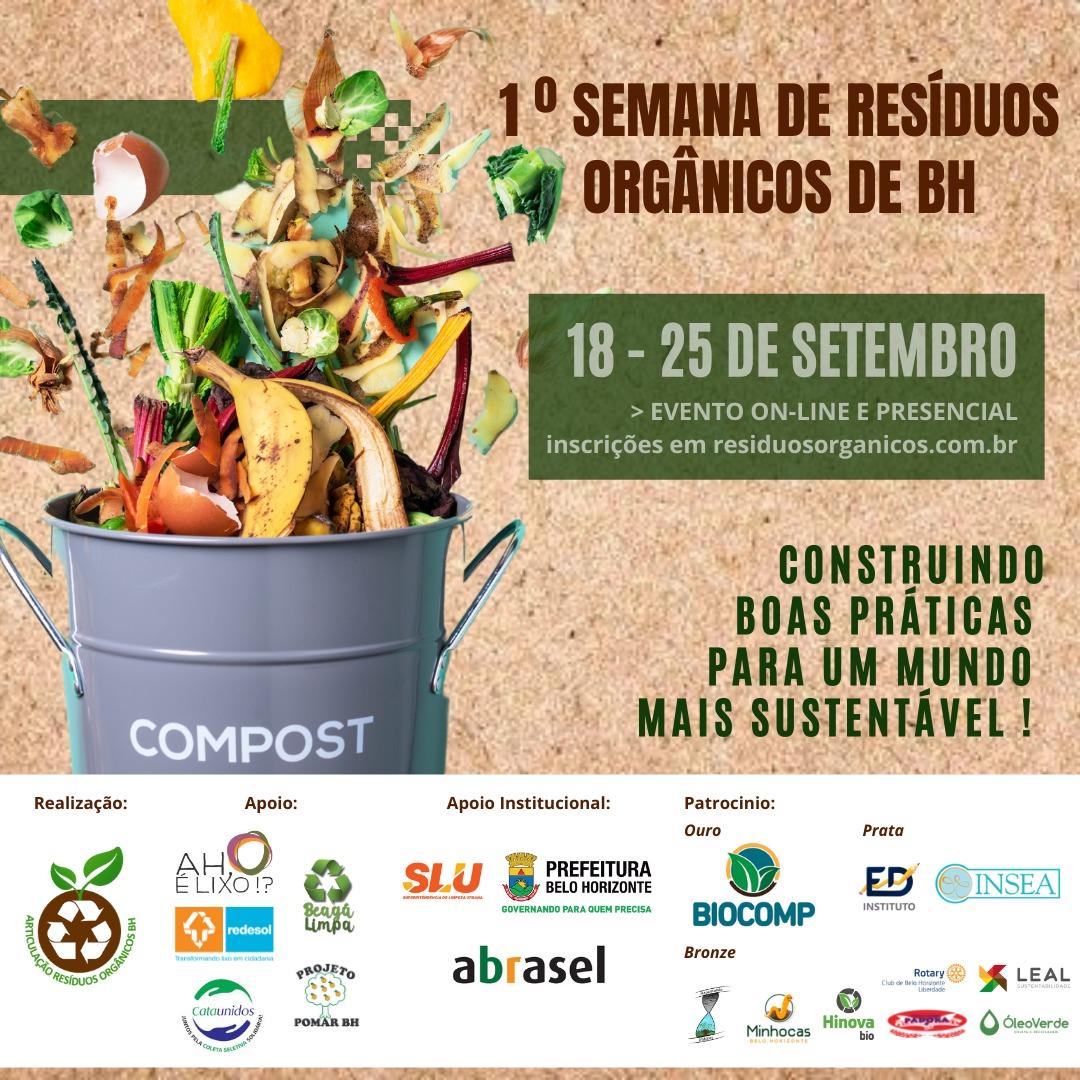 1º semana de resíduos orgânicos de BH