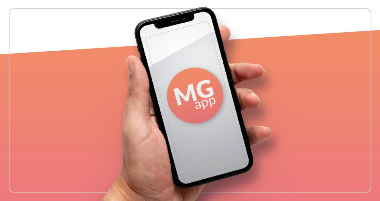 Aplicativo MP App em tela de celular