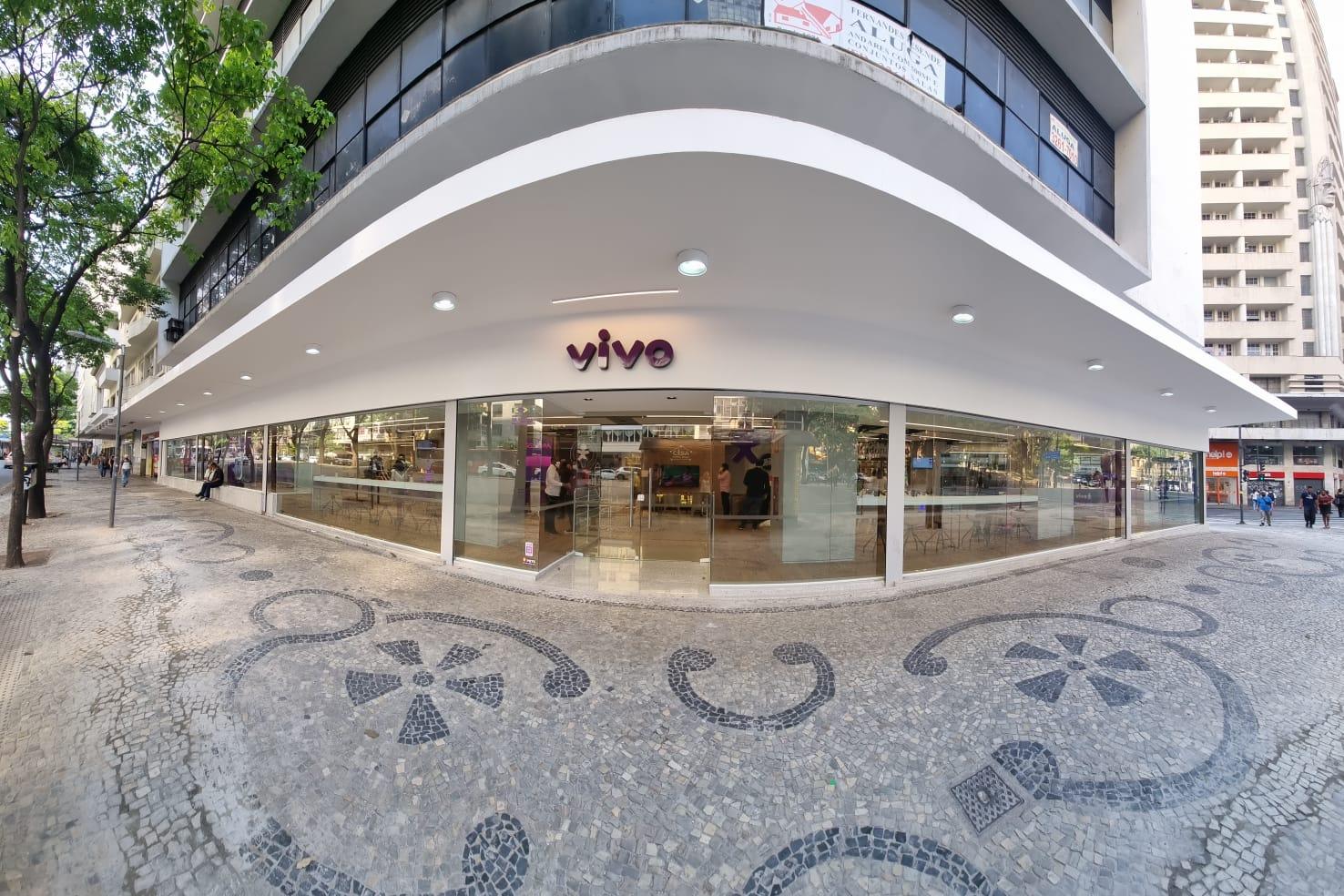Vivo traz novo conceito de experiências no centro de Belo Horizonte - Crédito: Divulgação Vivo