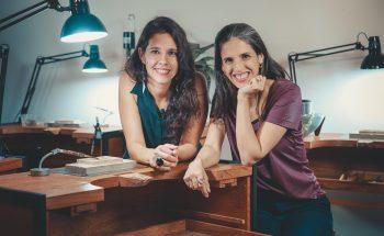 Luiza Hermeto e Fernanda Salomão são idealizadoras do Criadouro e têm marcas próprias de joias - Crédito: Arquivo Pessoal