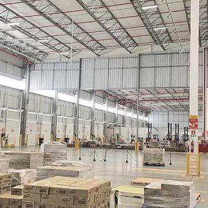 Novo CD em Extrema terá cerca de 12 mil m² multicliente | Crédito: Divulgação/DHL Supply Chain