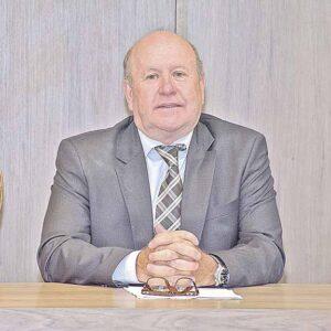 O presidente da Amagis, desembargador Alberto Diniz, diz que a criação do TRF-6 garante mais acesso à Justiça em MG   Crédito: Eric Bezerrra / TJMG