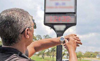 O horário de verão adianta o relógio em uma hora, o pico de consumo, que é no período da tarde, continuará o mesmo, seja para o lazer, banho e descanso | Crédito: Agência Brasil