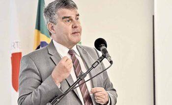 Paulo Brant falou sobre como a sustentabilidade e os ODS permeiam as ações do governo - Crédito : Renato Cobucci / Imprensa - MG