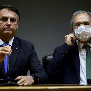Bolsonaro e Guedes deram entrevista para dissipar os rumores da demissão do ministro | Crédito: REUTERS/Ueslei Marcelino