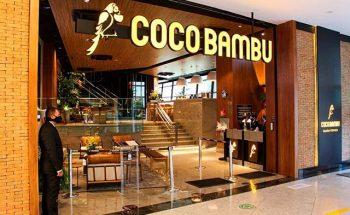 O restaurante Coco Bambu do Shopping Del Rey recebeu investimento de R$ 8 milhões | Crédito: DIVULGAÇÃO / COCO BAMBU