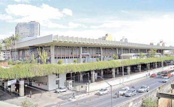 Rodoviária de Belo Horizonte, inaugurada em 1971, deverá passar por reforma estrutural e ampliação da capacidade instalada | Crédito: Divulgação
