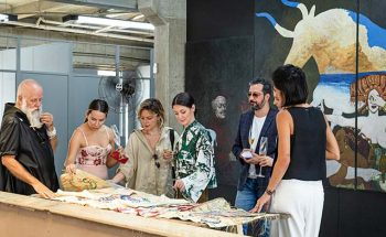 Instalado no 2º andar do DIÁRIO DO COMÉRCIO, o Vão é palco de exposições de artes plásticas | Crédito: Fernanda Mendes